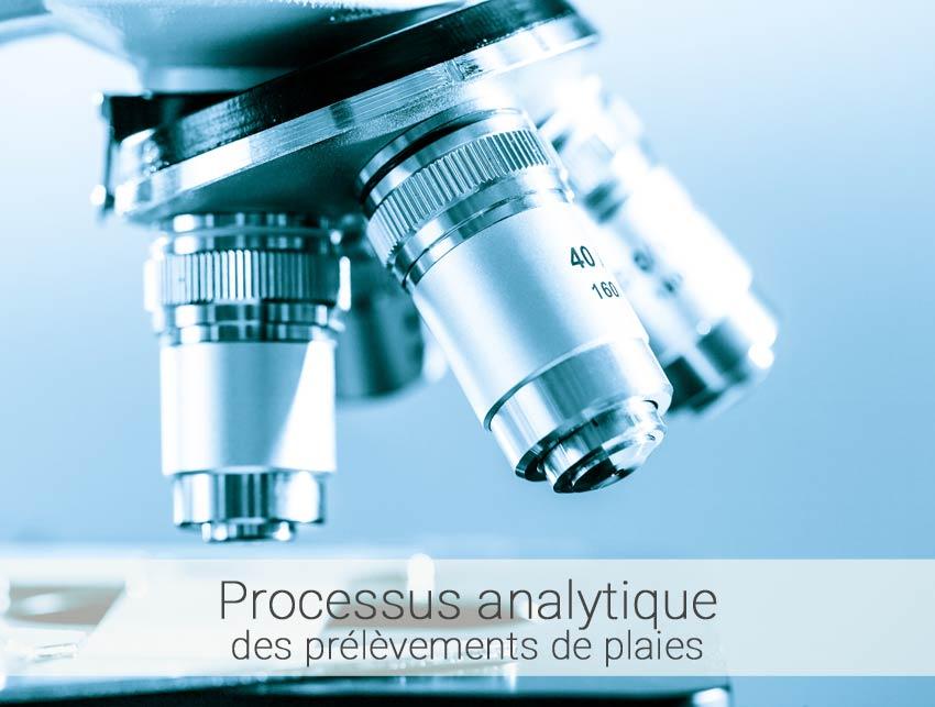 processus analytique des plaies