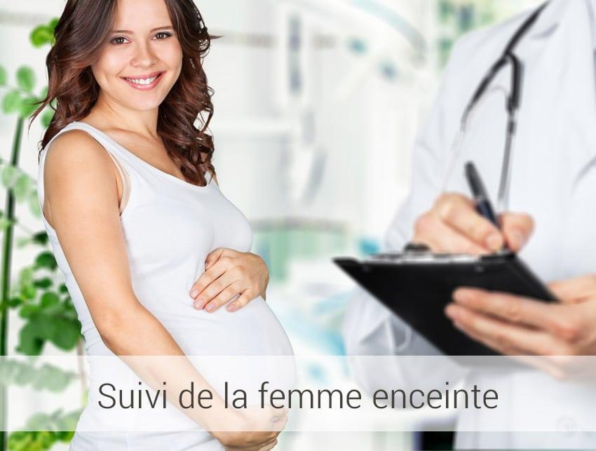 suivi de la femme enceinte au laboratoire